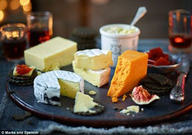 So much cheese! With this tasty course why not enjoy a  bottle of port?