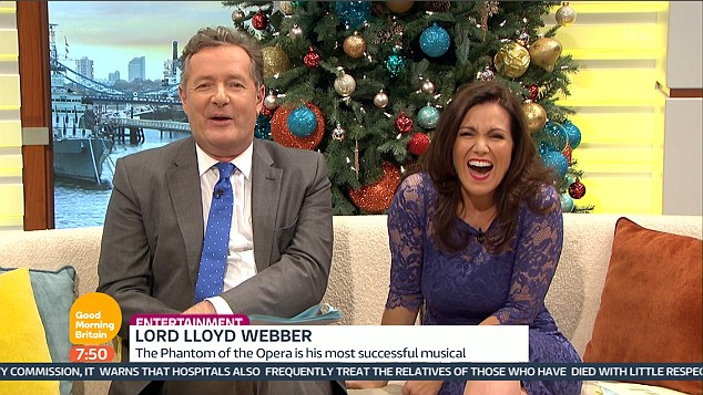 Happy days: Susanna continued to talk about her rejection, adding that Andrew gave her some good advice