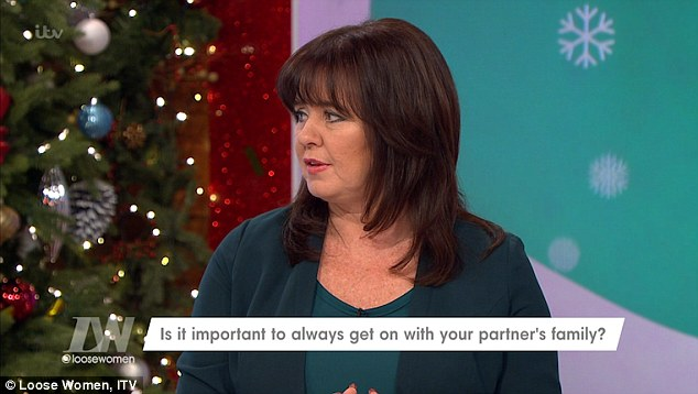 Did Coleen Nolan just blast Jesy Nelson? Loose Women star admits she 'wasn't sure about sons' ex girlfriends and had to bite her tongue' in the past