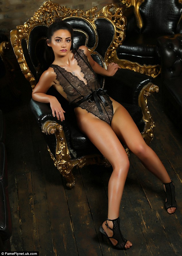 She's the boss! The Apprentice's Frances Bishop proves she has brains and beauty as she strips off for a racy shoot