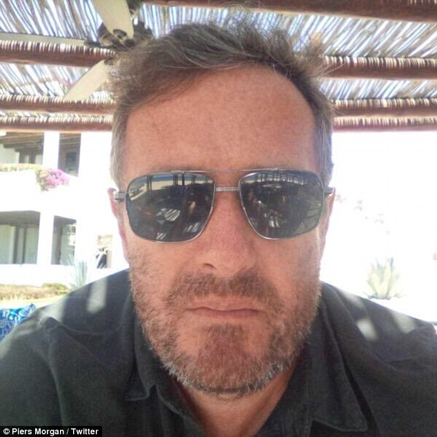 Hirsuit(s) him: He also showed off his recent bearded look, with Lorraine Kelly telling him he looks HOT!