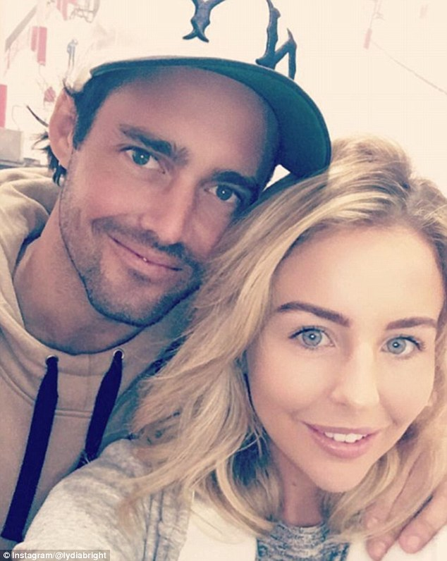 Full line-up: Spencer Matthews (pictured with Lydia), Gareth Thomas, Robbie Fowler and Caprice have all been confirmed to be taking part