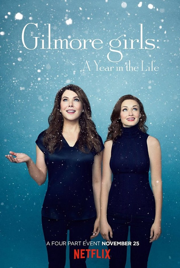 Nope: Fan favourites  the Gilmore Girls also failed to impress the Guild