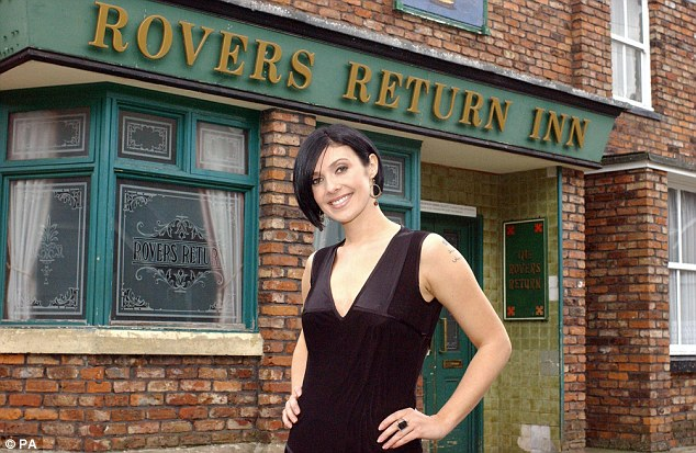 Corrie on regardless!Kym was no doubt surprised to find time to hit the shops as she is currently working on an explosive new Coronation Street storyline