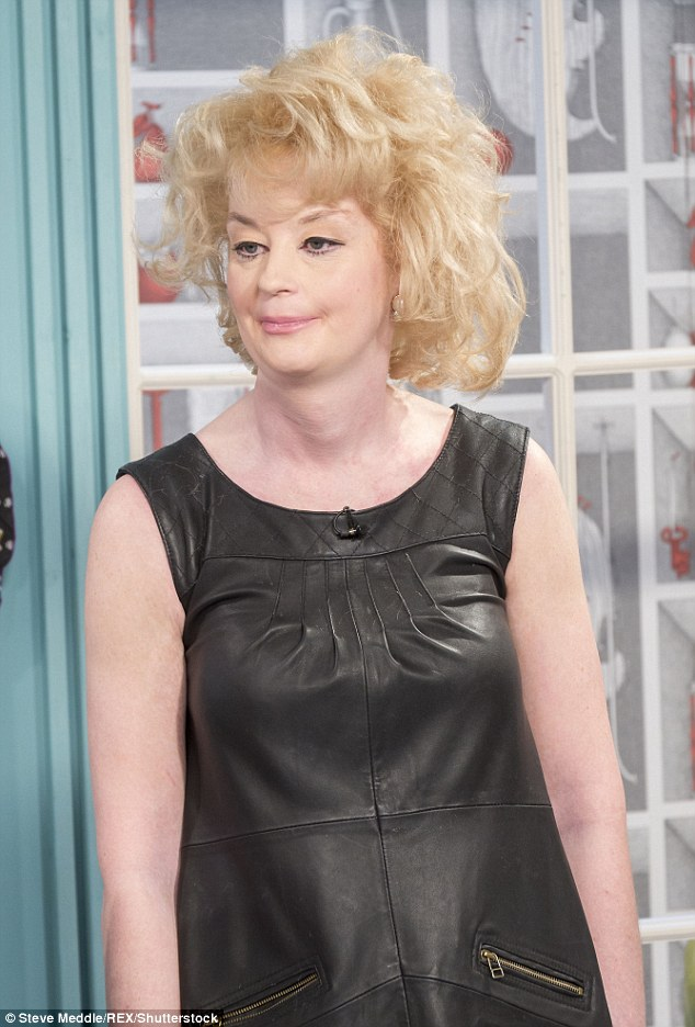 Giving it another go: Lauren Harries, 38, is the first contestant to confirm they're taking part in the upcoming series of Celebrity Big Brother