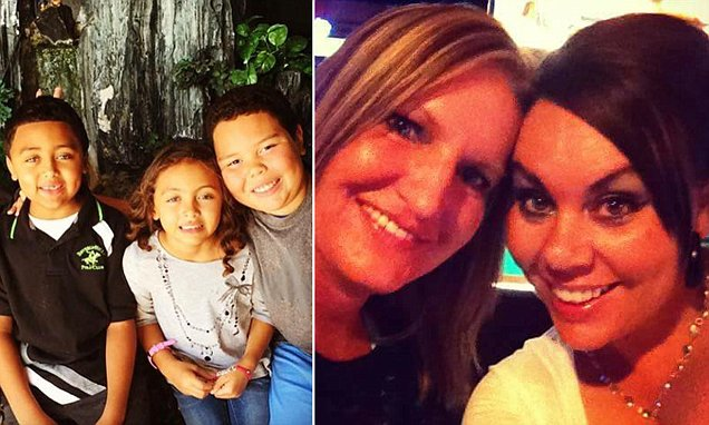Mother-of-two makes her terminally ill best friend's last wish come true by adopting her