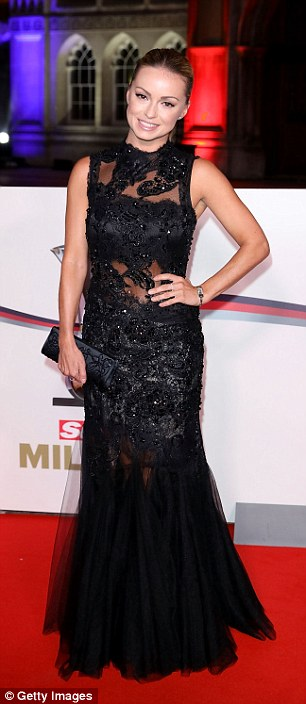Jungle reunion: Carol Vorderman (L) and Ola Jordan (R) reunited on their home turf on Wednesday, as they both made a glamorous appearance at the star-studded Military Awards