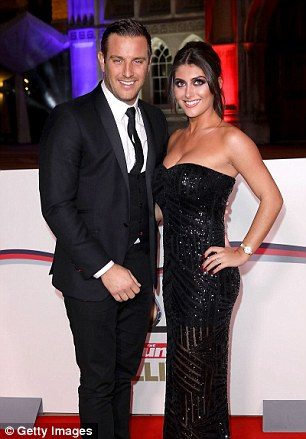 Well suited! Smitten couplesElliott Wright and Sadie Stuart (L) andMark Cavendish and Peta Todd (R) kept things toned-down but classy in black suits and dark, elegant frocks