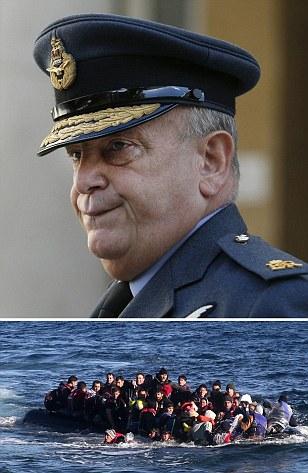 Jihadis 'hiding in plain sight' among migrants, says Armed Forces chief: Sir Stuart Peach