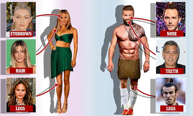 The 'perfect' female body type revealed