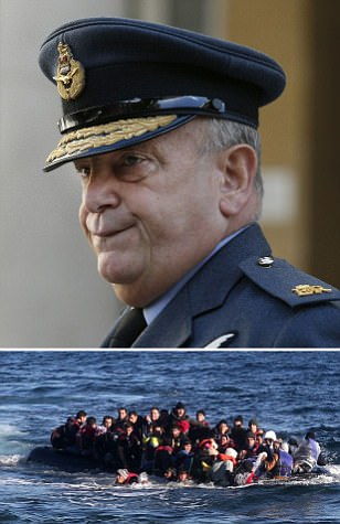 Jihadis 'hiding in plain sight' among migrants, says Armed Forces chief: Sir Stuart Peach