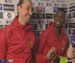 Manchester United star Zlatan Ibrahimovic refuses to give Paul Pogba motm award