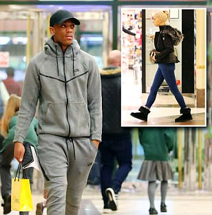 Man United news: Anthony Martial shops after being left out of squad to face Crystal