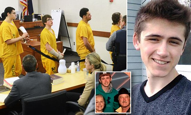Teens accused of brutally killing David Grunwald in Alaska face victim's parents in court