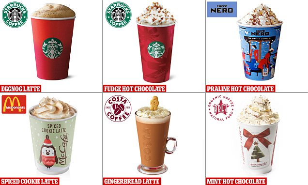 How those cream-topped, syrup-flavoured drinks can contain up to 13 teaspoons