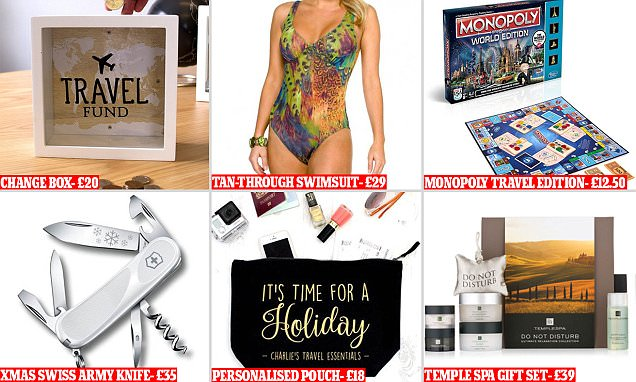 Ultimate jetsetter's Christmas gift guide with more than 50 presents for every budget