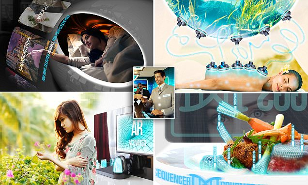 Robo-butlers, self-assembling made-to-order rooms and spa treatments based on DNA