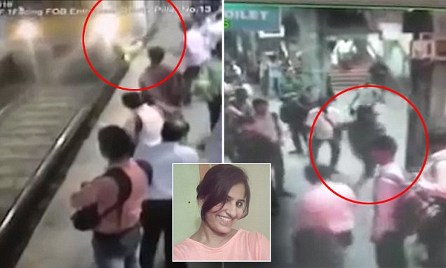 Sapna Shukla is crushed to death by train after mugger pushes her in Mumbai