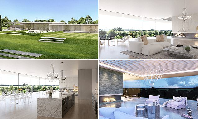 Hertfordshire self-build bungalow the size of SEVEN family homes for sale at £2.75m