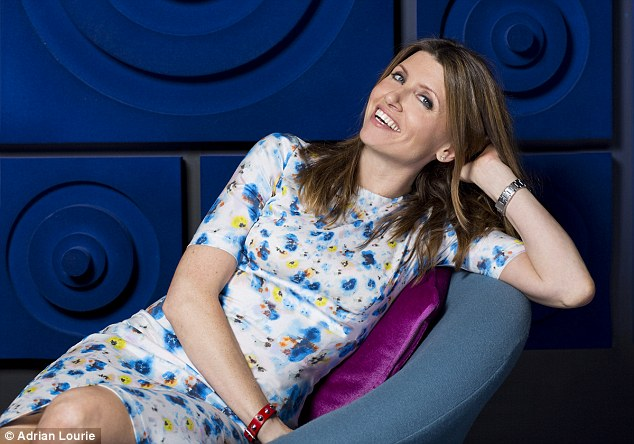 Then there's the success of another female comic writer, Sharon Horgan (pictured)
