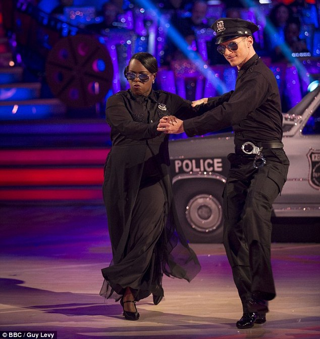 The couple had been voted off the show but Gorka had carried on appearing in other dances