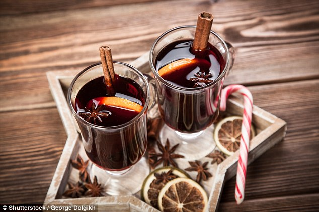 Bottom's up! Enjoy a warming glass of mulled wine. For something lighter, why not try M&S Mulled Rosé £6.50 (down to £4.50 until 1st January)