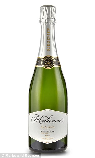 Cheers! Marksman English Sparkling Brut Blanc de Blancs, 2013 £26.00 and Spiced Clementine Gin 50cl, £13