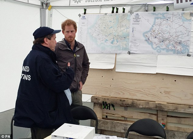 The Prince examined the map of the country and tracked the route of the tornado