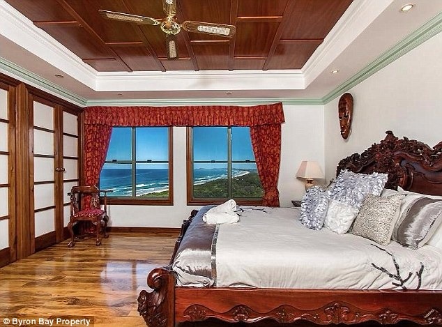 What a view! All the rooms inside the beachside mansion feature sweeping views of the surrounding wilderness and the ocean