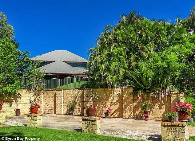 Bright future: The couple are reportedly so in love with Byron Bay they plan to get married there on the beach in 2017