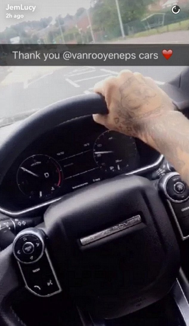 Snap back?She stirred controversy yet again in September after she was slammed for seemingly using her phone while driving - claims she vehemently denied