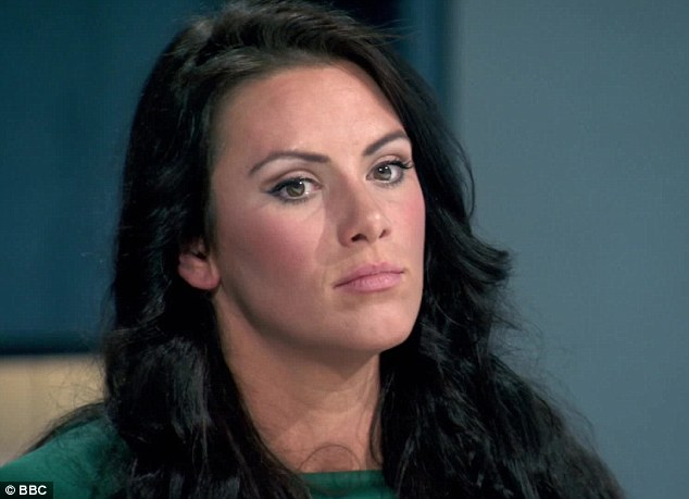Frazzled: It wasn't long before the candidates began to fall apart, with Jessica Cunningham even remarking that she had left her 'dignity on the 42nd floor'