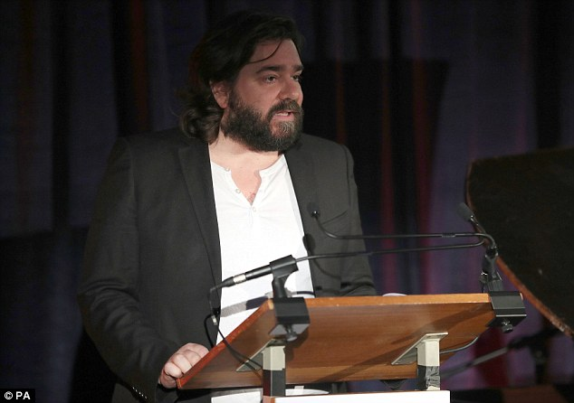 Dramatic event: Joining the likes of actor Matt Berry (pictured) were former prisoners who read letters sent to National Prison Radio (NPR) over the years
