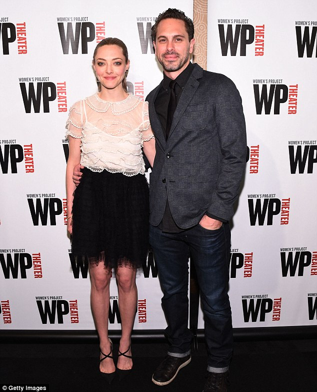 Whirlwind romance: Amanda and Thomas are shown in June 2015 in New York City
