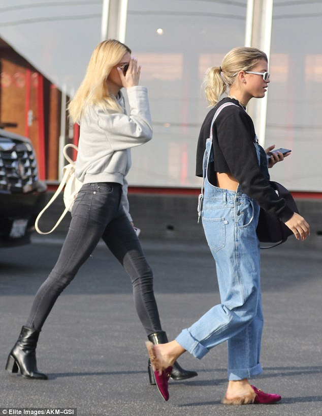These boots were made for walking! Peltz hit her stride in ankle boots