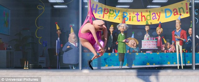 Fun for all the family:The hilarious new film is scheduled to be released on June 30, 2017