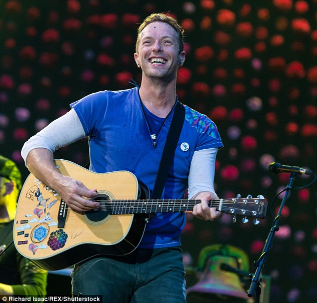 'No one wants to marry me': Coldplay front-man Chris Martin, 39, has provided a rare update on his love life by joking that his chances of finding another wife are slim