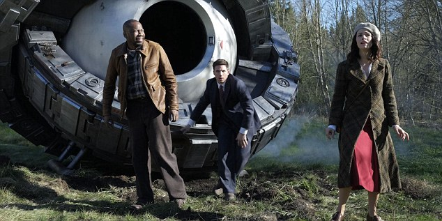 Christopher Stevens said Timeless (E4) has 'flat-footed characters' and 'big-screen special effects that don't look a jot more realistic'