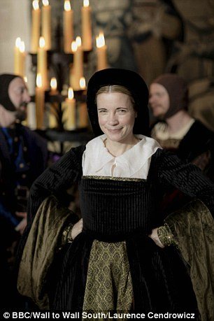 Christopher Stevens found the dramatic reconstructions 'jarring' in Six Wives with Lucy Worsley (BBC1)