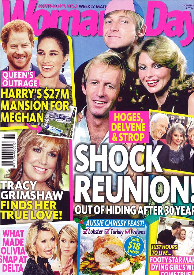 Previous reports of a feud were published in Woman's Day magazine, on sale now