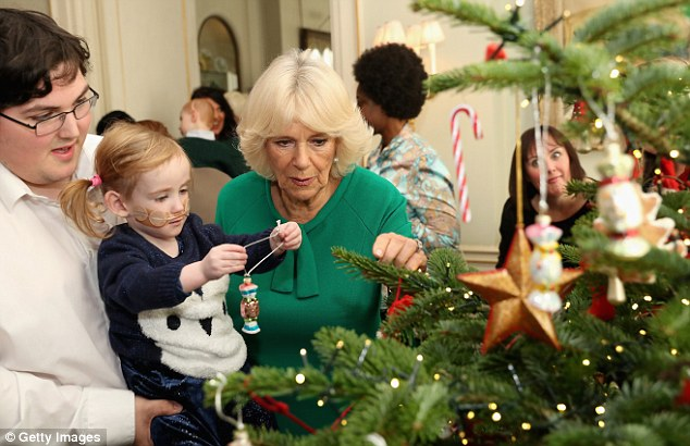 Today marks the eleventh time Camilla has held the event for the children at her home