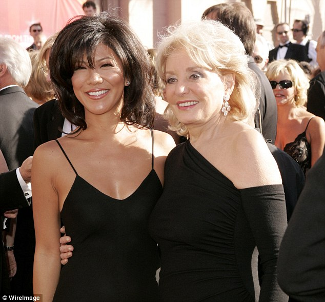 "Thoughts: 'Barbara Walters is probably like, ""This amazing show I created is now just kind of withering away with a revolving door of hosts,""' said Chen (above with Walters in 2004)"