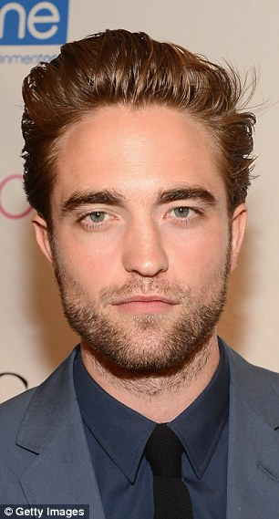 Twilight's Robert Pattinson may not have a full beard but still rocks the stubble look, pictured