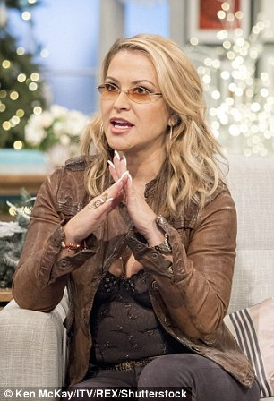 Anastacia said: 'You've got to have a good sense of humour and try to turn the negatives into positives'