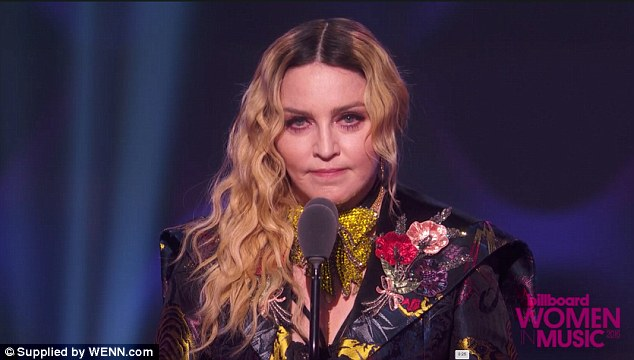 Hitting back: 'It is absolutely ridiculous for Madonna to now claim that she longed to ally with other women at the start of her career but was rebuffed from doing so,' Camille wrote