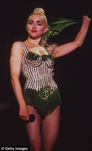 Take that: Camille argued that in the '90s Madonna was the one who rebuffed working with her. Madonna is pictured in 1990