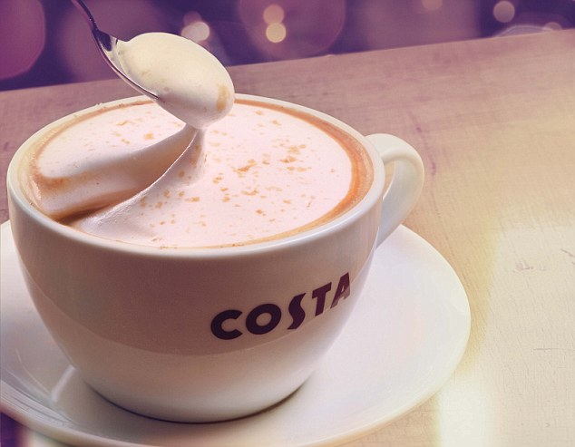 It really feels like the festive season when you can order Costa's Christmas drinks. One of this year's must-haves is the delightfully frothy Salted Caramel Cappuccino