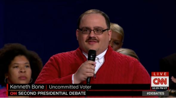 Kenneth Bone—uncommitted voter