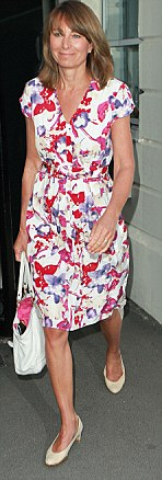 From frumpy to fabulous: Carole Middleton slimmed down with the  Dukan diet