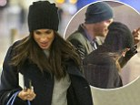 ***COPYRIGHT: CONSTANT MEDIA*** \nEXCLUSIVE - DO NOT PUBLISH PRIOR TO WRITTEN AGREEMENT OF FEES AND RIGHTS\nCONTANT: INFO@CONSTANT.MEDIA\n\n+44 797 156 124\n\nMeghan Markle departed London on Sunday after spending a week with her prince. HRH Prince Harry personally dropped his girlfriend to Heathrow airport before she boarded her flight. Meghan was accompanied by airline staff prior to boarding her flight. The prince was flanked by 5 met police officers, 2 of which had arrived prior to the couples arrival to the airport. 18/12/2016\n\nNote to Editors: The pictures were taken at Heathrow Airport. The subjects were not followed at any point. All pictures were taken on a 70-200mm lens and at no point were the photographers asked to desist. All images were taken in full view of the public within Heathrow airport.